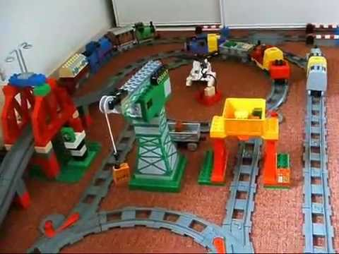 Thomas De Trein Met James En Spencer Van Duplo Lego Youtube