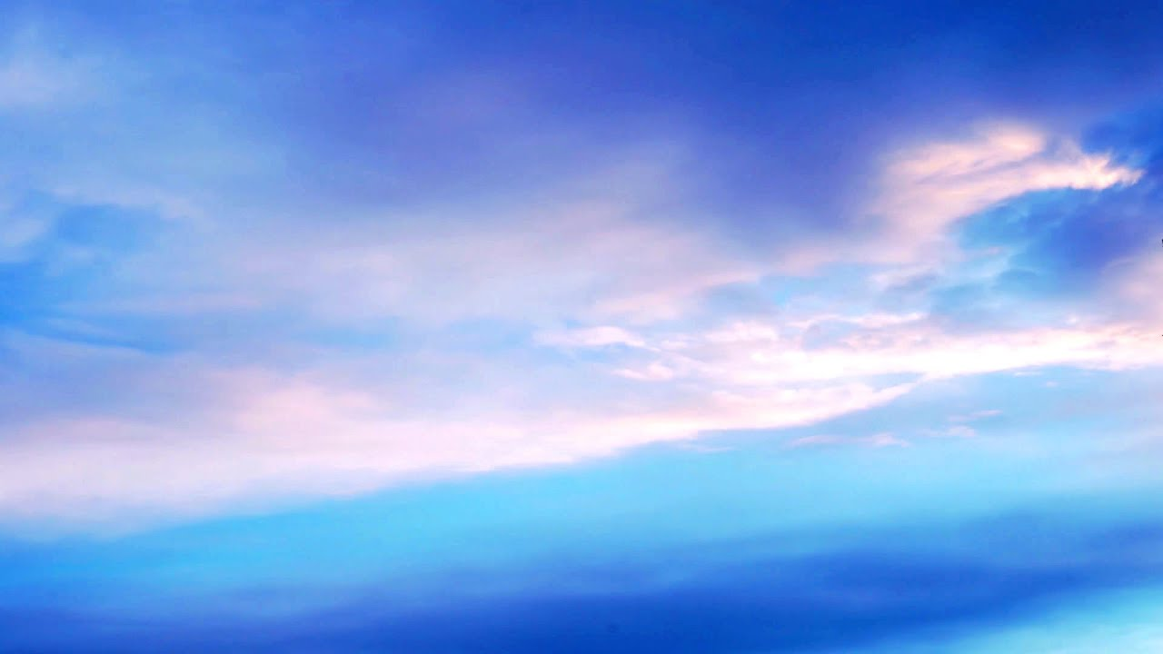 4K Timelapse Sky Clouds / Relaxing background FREE stock footage