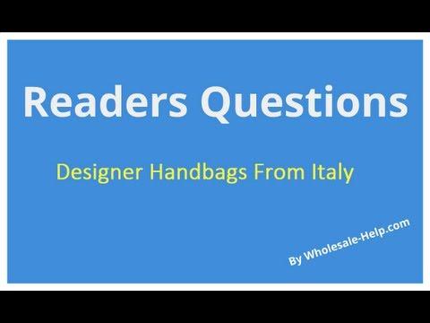 Where to Buy Wholesale Designer Handbags