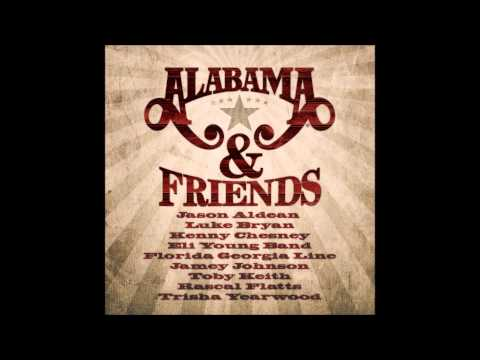 Trisha Yearwood - Forever's As Far As I'll Go - Cd Alabama & Friends (2014)  Fan Video