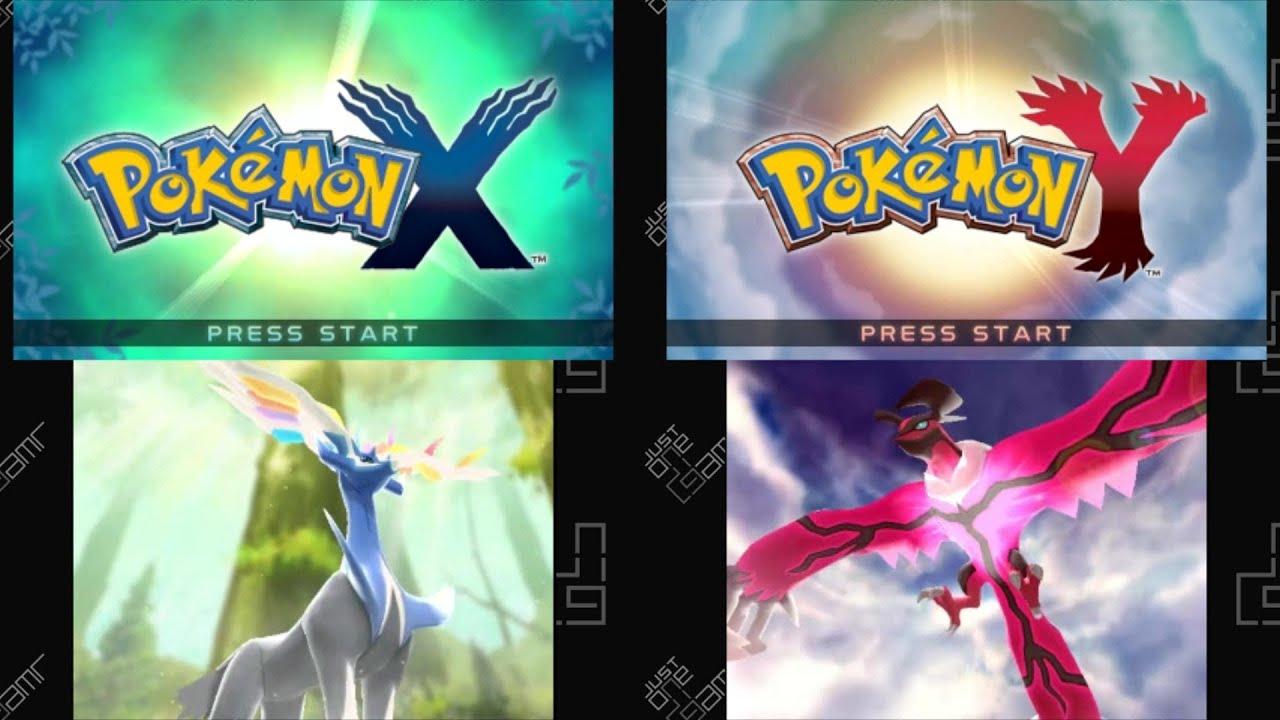 Pokémon X Pokémon Y Title Screen Opening Movie 3ds
