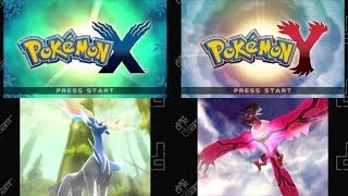 Pokémon X & Pokémon Y - Title Screen & Opening Movie [3DS]