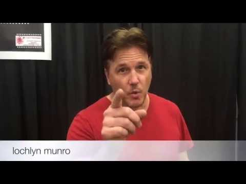 lochlyn munro has a special announcement