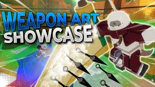 [CODES] Ninja-Waffen-Manipulation Kunst VOLLER SHOWCASE! | Shinobi Geschichte | ROBLOX