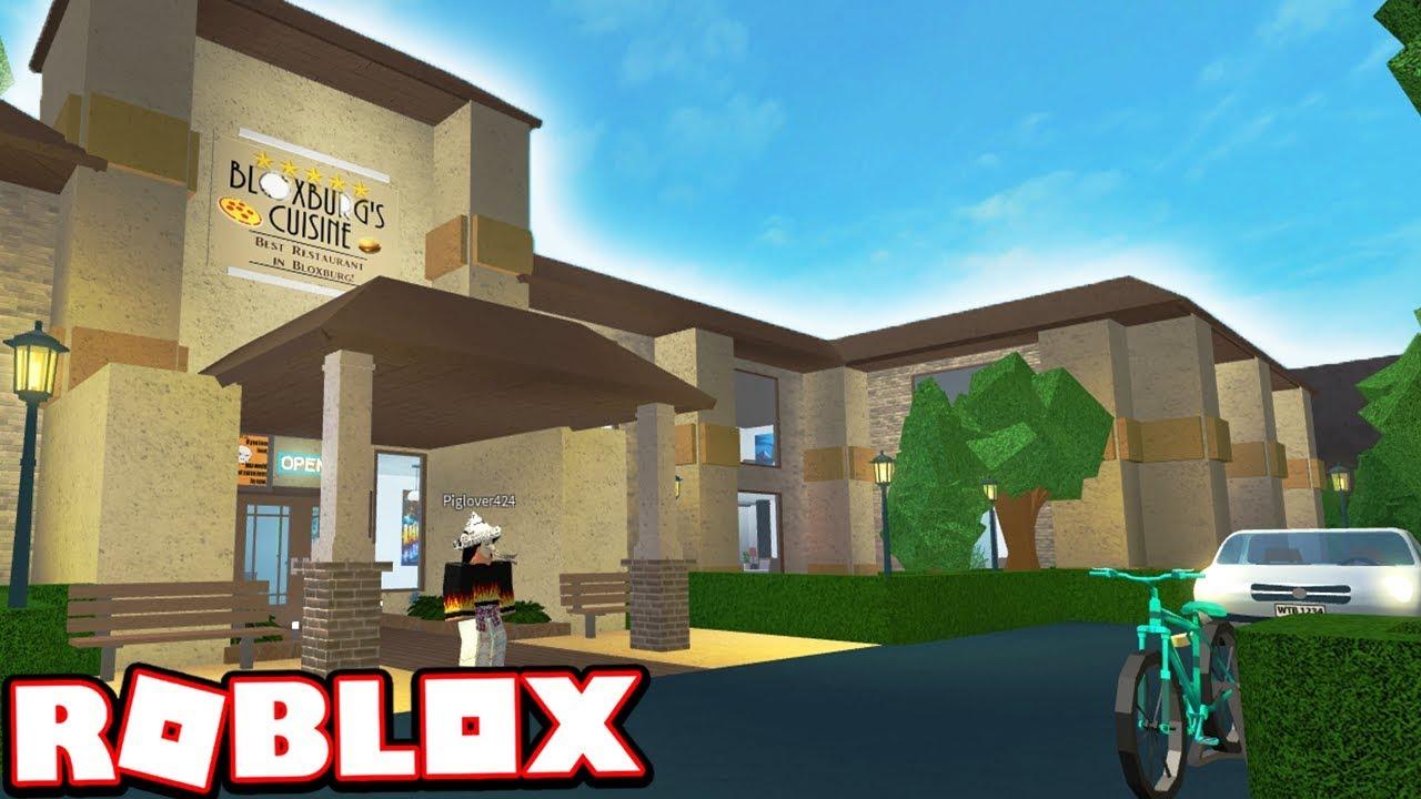 THE BEST RESTAURANT IN ROBLOX BLOXBURG!!!