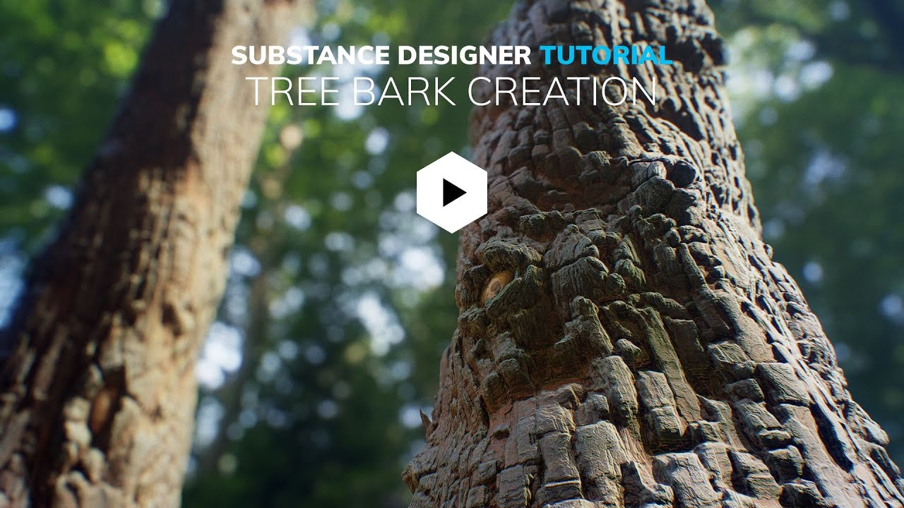 Tree Bark Creation Tutorial available on Gumroad