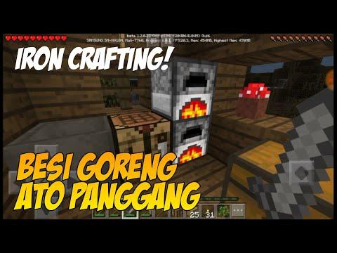 Masak Iron dan Crafting Iron Ore! - Keluar Dari Gua | Minecraft Survival Indonesia #6