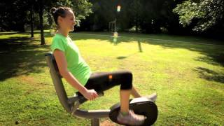 Recumbent Cycle - Forward | Outdoor Fitness Equipment | Gtfit | Gametime