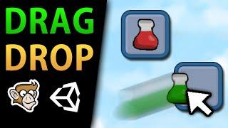 Simple Drag Drop (Unity Tutorial for Beginners)