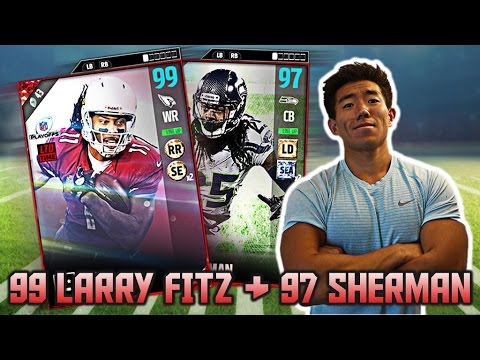 WE GET NEW 99 OVR LARRY FITZGERALD & 97 OVR RICHARD SHERMAN! ULTIMATE TEAM 17