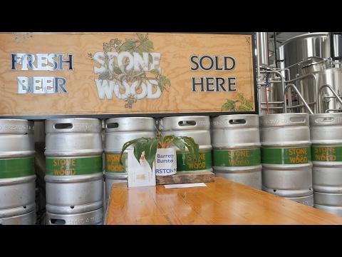 Stone & Wood - Australian Brewery Walkthrough