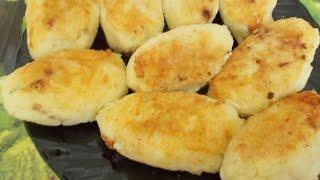 Картофельные зразы  с мясом .