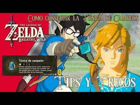 The Legend of Zelda: Breath of the Wild | Tips y Trucos | Como conseguir la Túnica de Campeón