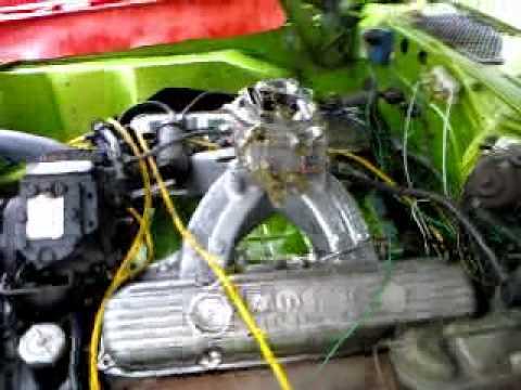 1973 dodge charger Edelbrock victor 440 high rise-intake
