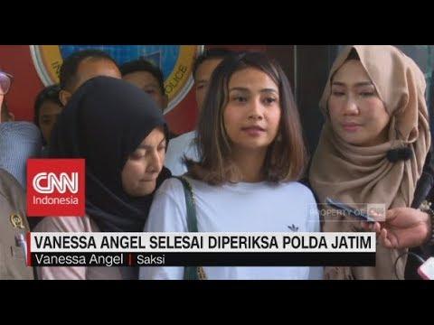 Selesai Diperiksa Polda Jatim, Vanessa Angel Minta Maaf