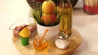 Яблочный салат красоты, утка в яблоках, яблочный пирог для Пушкина | Детское меню