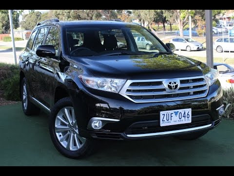 B5249 - 2013 Toyota Kluger Altitude Auto AWD Review