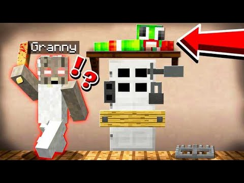 HIDING FROM EVIL GRANNY IN MINECRAFT! thumbnail