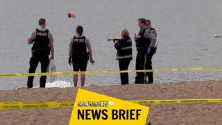 Boy finds dead body floating in lake