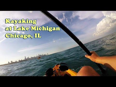 Kayaking At Lake Michigan - Chicago, IL