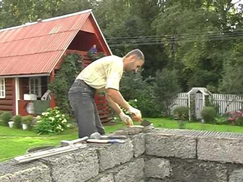 Использование кладочной сетки при строительстве дома из арболита