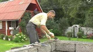 Использование кладочной сетки при строительстве дома из арболита(При кладке блоков арболит, через каждые 3 ряда используется кладочная сетка. Как? смотрите на видео от нашег..., 2015-10-31T20:37:52.000Z)