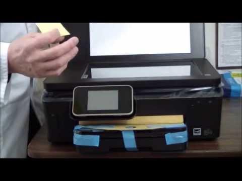 HP Photosmart 6520 Unboxing & Setup