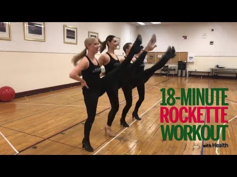 18-Minute Rockette Workout | Health