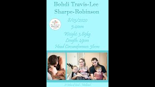 Birth of Baby Sharpe-Robinson | Natural | St John of God - Midland