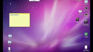 Рабочий стол в Mac OS X 10.6. Заметки (5/44)
