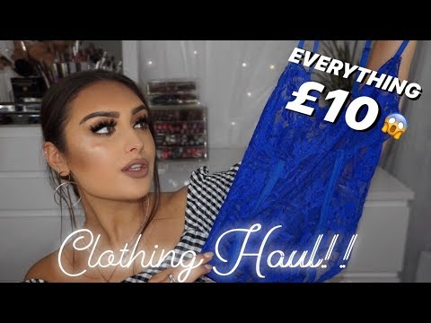 £10 Clothing Haul!!! | Motel Rocks