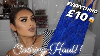 £10 Clothing Haul!!! | Motel Rocks