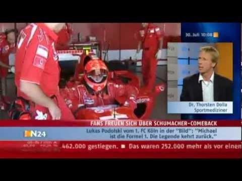 Dr. Thorsten Dolla über Schumacher-Comeback zur Formel 1 nach Motorradunfall