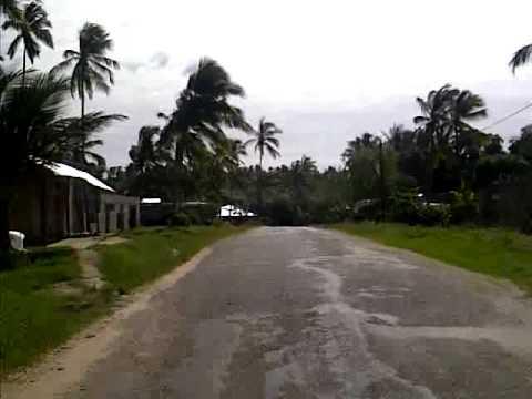 Zanzibar Tanzania -  Driving to Airport - Crossing the Island