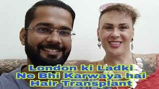 Best Hair Transplant Result After 18 Month of Beautiful Girl from London