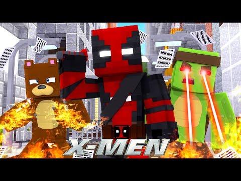 JOINGING DEADPOOL!!! w/TinyTurtle - Minecraft X-Men