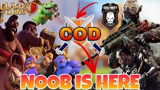 #LIVE CALL OF DUTY(COD) WITH NOOB😂.