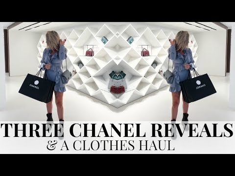 THREE CHANEL REVEALS & A CLOTHES HAUL | IAM CHOUQUETTE
