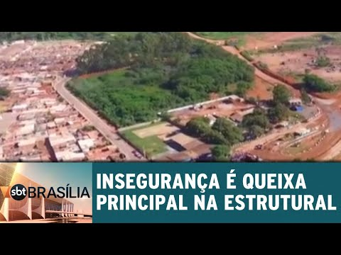 Ligação direta: Insegurança é queixa principal na Cidade Estrutural | SBT Brasília 19/06/2018