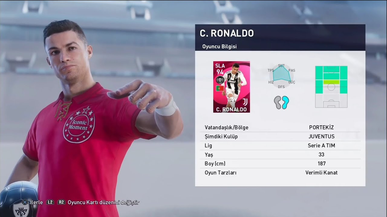 ICONIC Cristiano Ronaldo Pack opening | Getting Iconic Ronaldo in PES 2021  #pes 2021 - YouTube