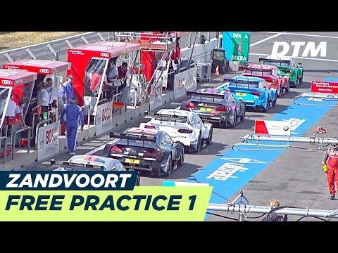 DTM Zandvoort 2018 - Free Practice 1 - RE-LIVE (German)