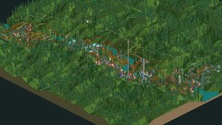 Roller Coaster Tycoon: Rainbow Valley Timelapse