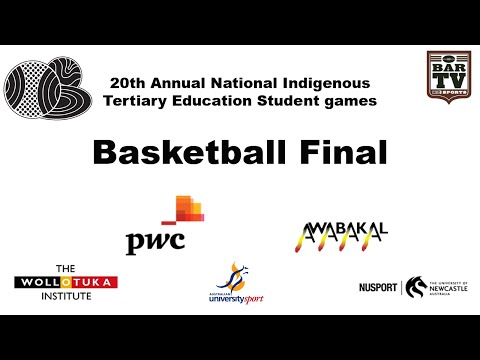 20th Annual National Indigenous Tertiary Education Student games - Basketball Final