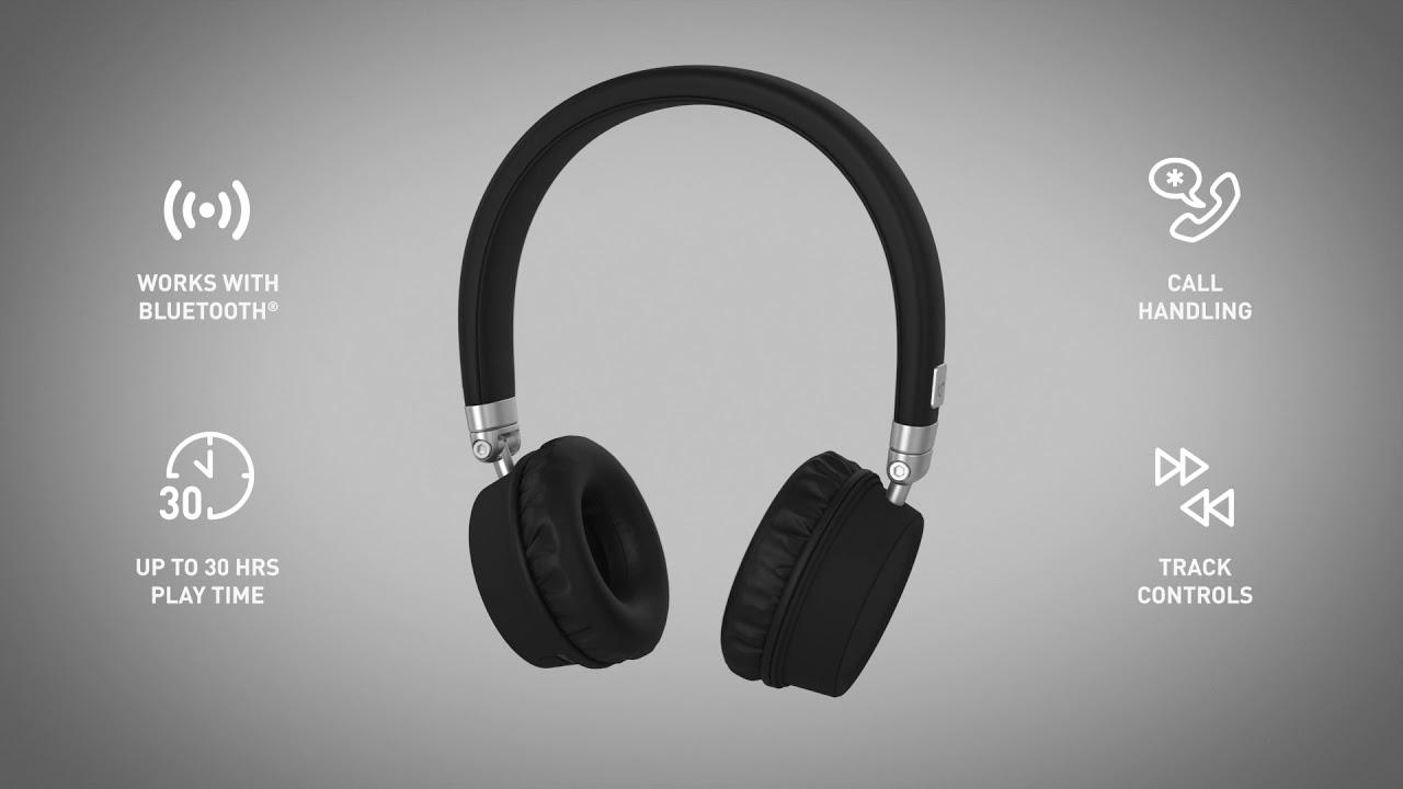 685dba94d886ac KitSound Harlem Wireless Headphones - YouTube