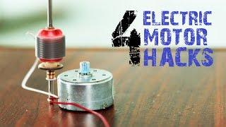 4 creative things from Electric Motors that you may not  know