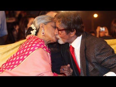 Jaya Love's Amitabh Bachchan Publicly | Screen Awards 2014