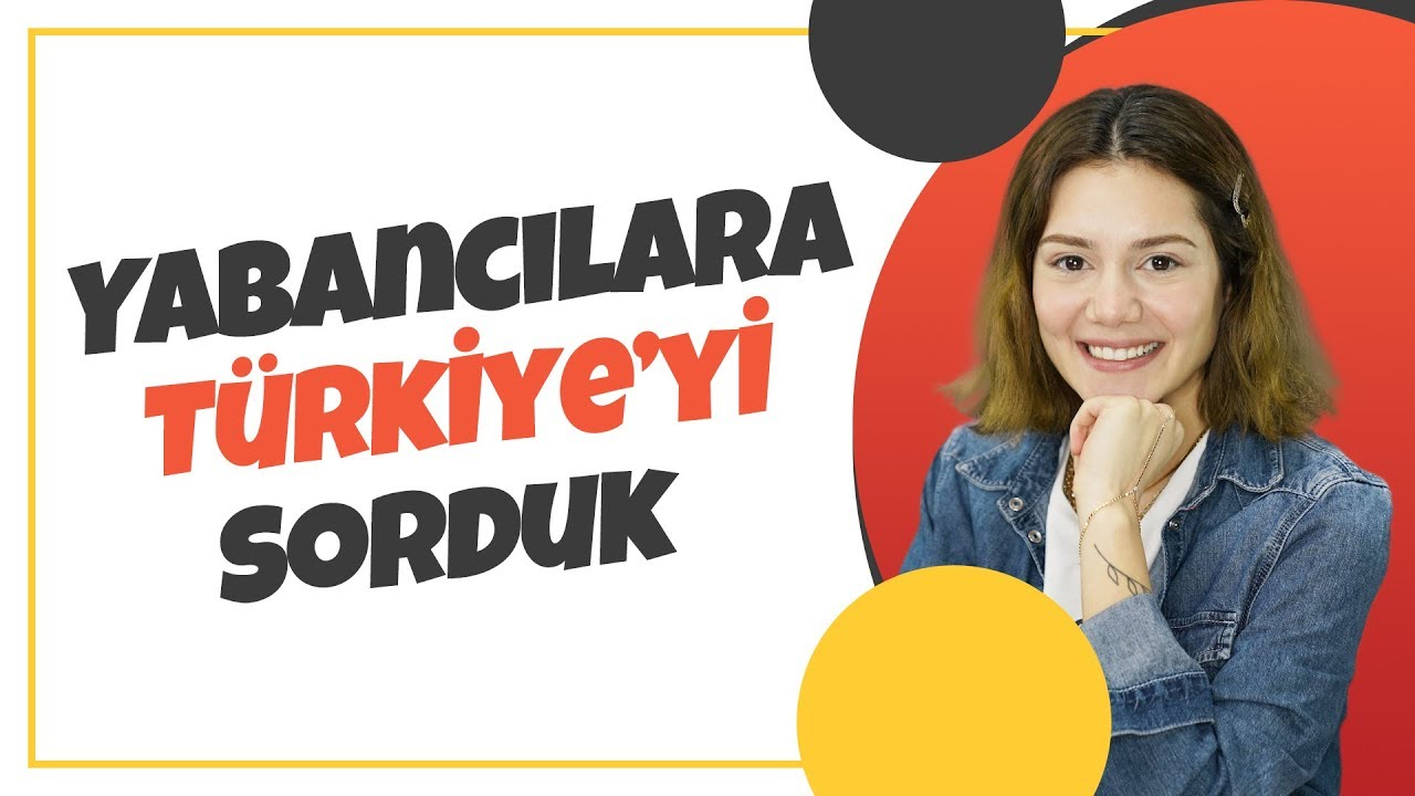 Yabancılara Sorduk | Yabancılara Türkiye'yi Sorduk | #1