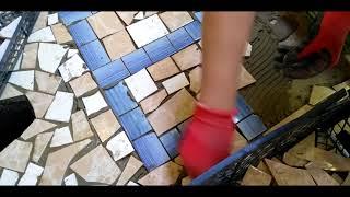 как сделать мозаика плитка