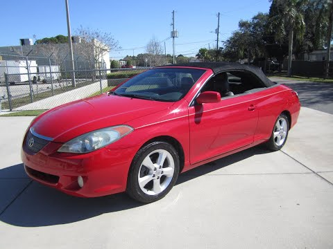 2006 Toyota Solara SLE V6 Convertible Meticulous Motors Inc Florida For Sale