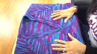 Tii Casa Knitting Tip - Joining Raglan Sleeves